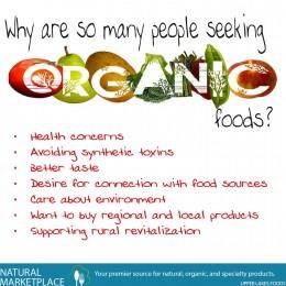 Seeking Organic Foods