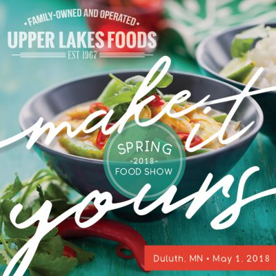 Save the Date for the Spring Food Show!