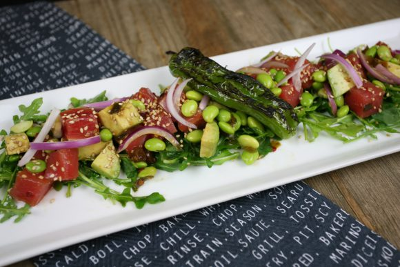 Tuna Poke & Edamame Salad
