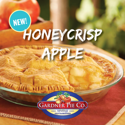 New Honeycrisp Apple Pie!