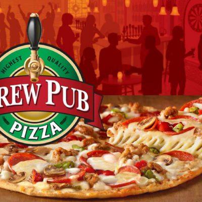 New from Brew Pub Pizza!