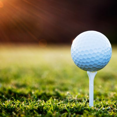 Fore! Golf season is here.